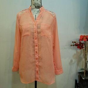 Womans button down blouse